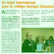 article journal Regard commune Le Rheu